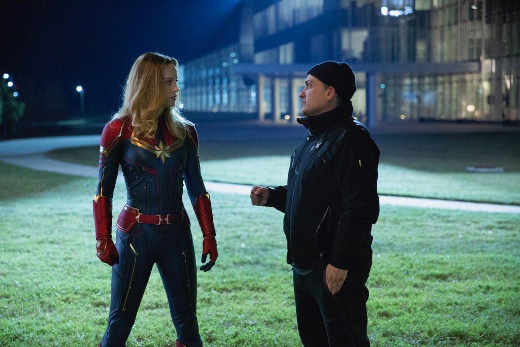Vaine tentative de Joe Russo pour faire un check à Captain Marvel