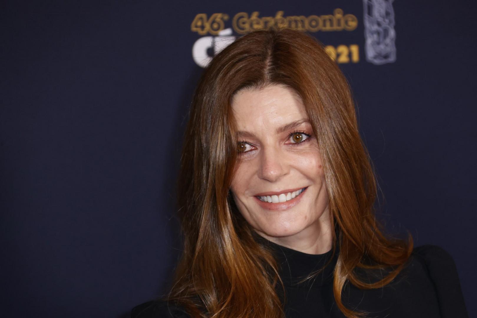 L'actrice Chiara Mastroianni sur le tapis rouge des César 2021