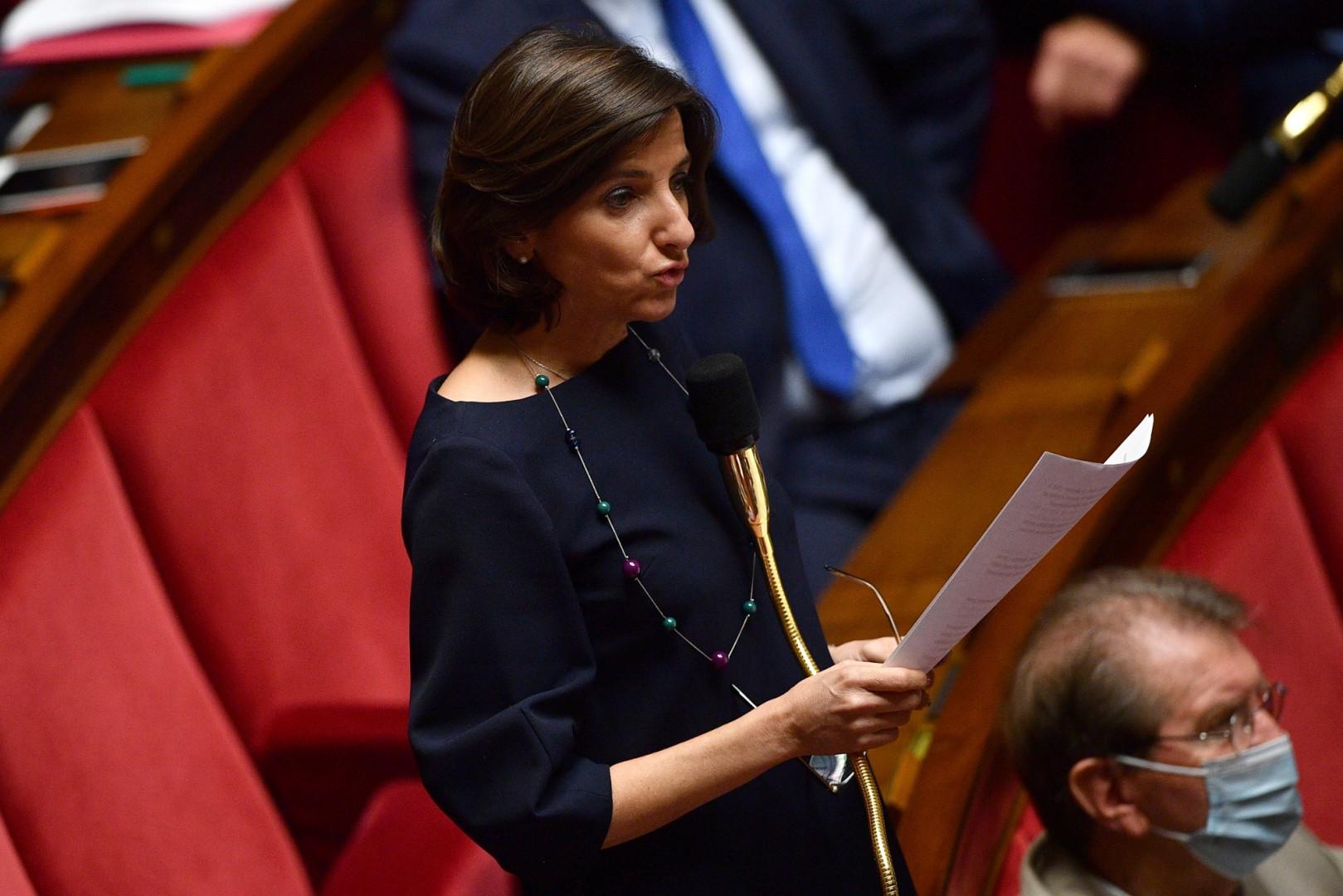 Nathalie Elimas, secrétaire d'État chargée de l'Éducation prioritaire et membre du MoDem, est l'une des quatre ministres à porter les couleurs de la liste de Laurent Saint-Martin en Île-de-France.
