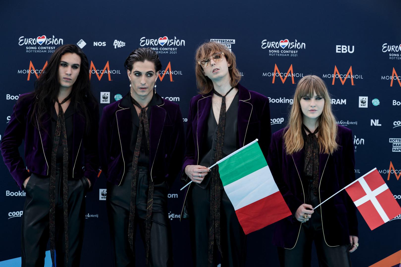 Le groupe Måneskin représente l'Italie