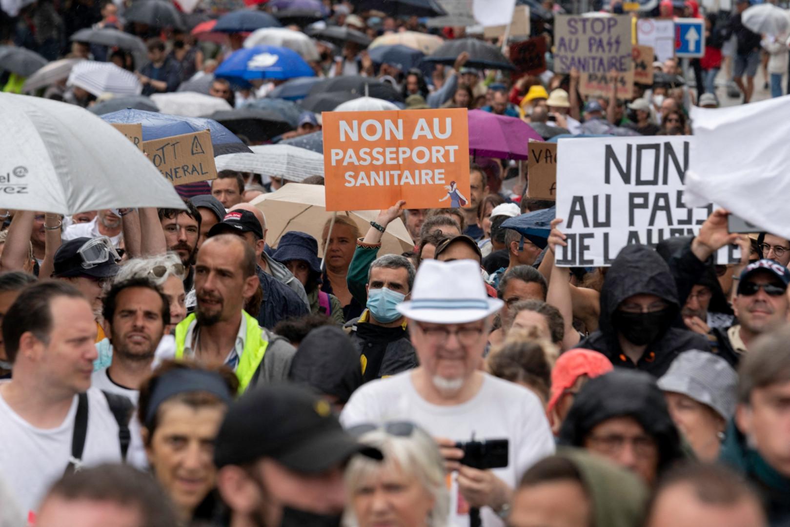 116.000 manifestants étaient présents dans les rues françaises