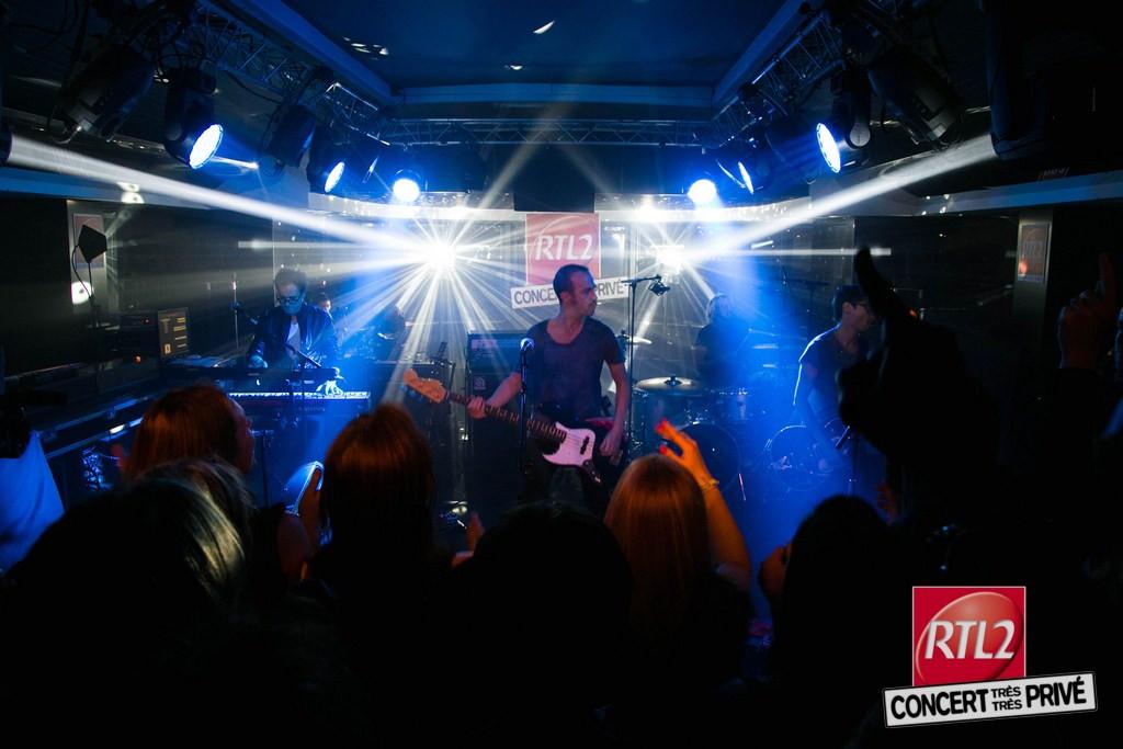 Calogero Concert Tres Tres Prive RTL2