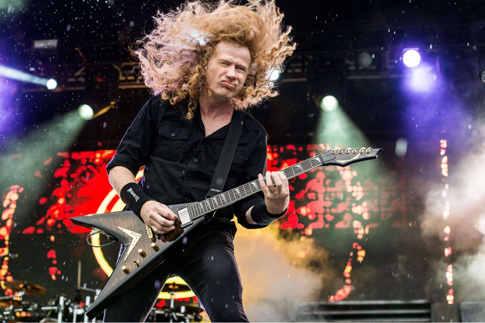 Megadeth en mai 2016 au festival Rock on the Rang, aux États-Unis