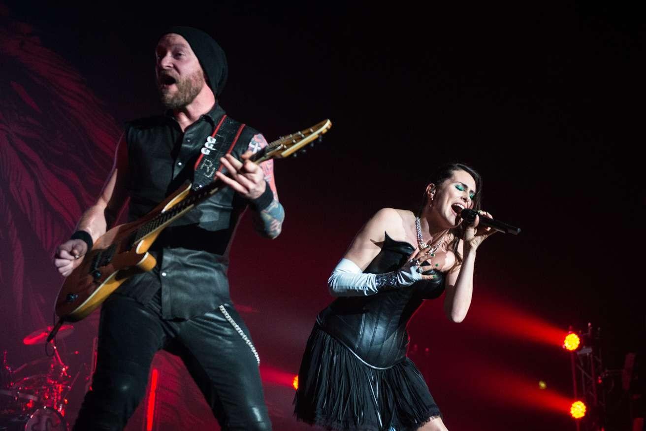 Within Temptation en concert à Londres