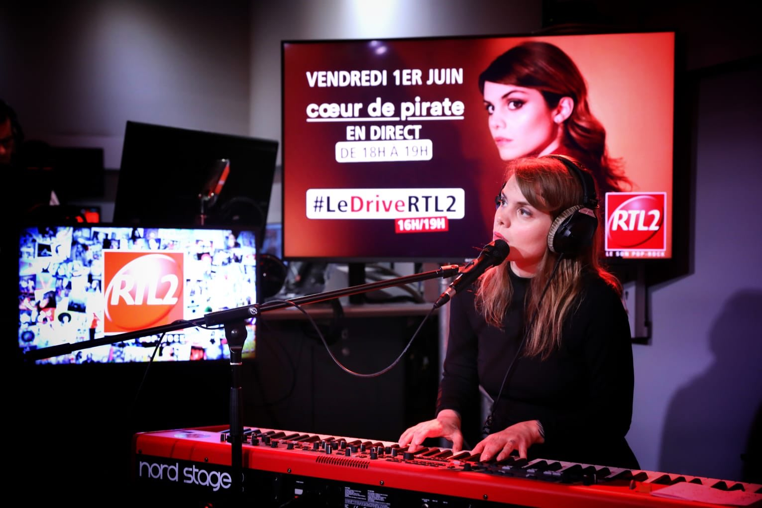 Cœur de Pirate dans #LeDriveRTL2