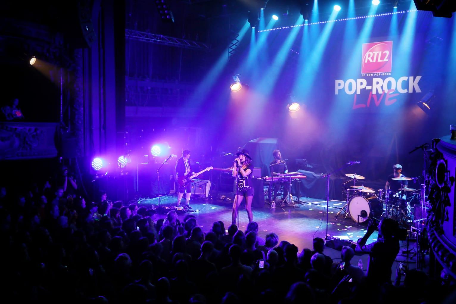 RTL2 Pop-Rock Live au Trianon : Zazie