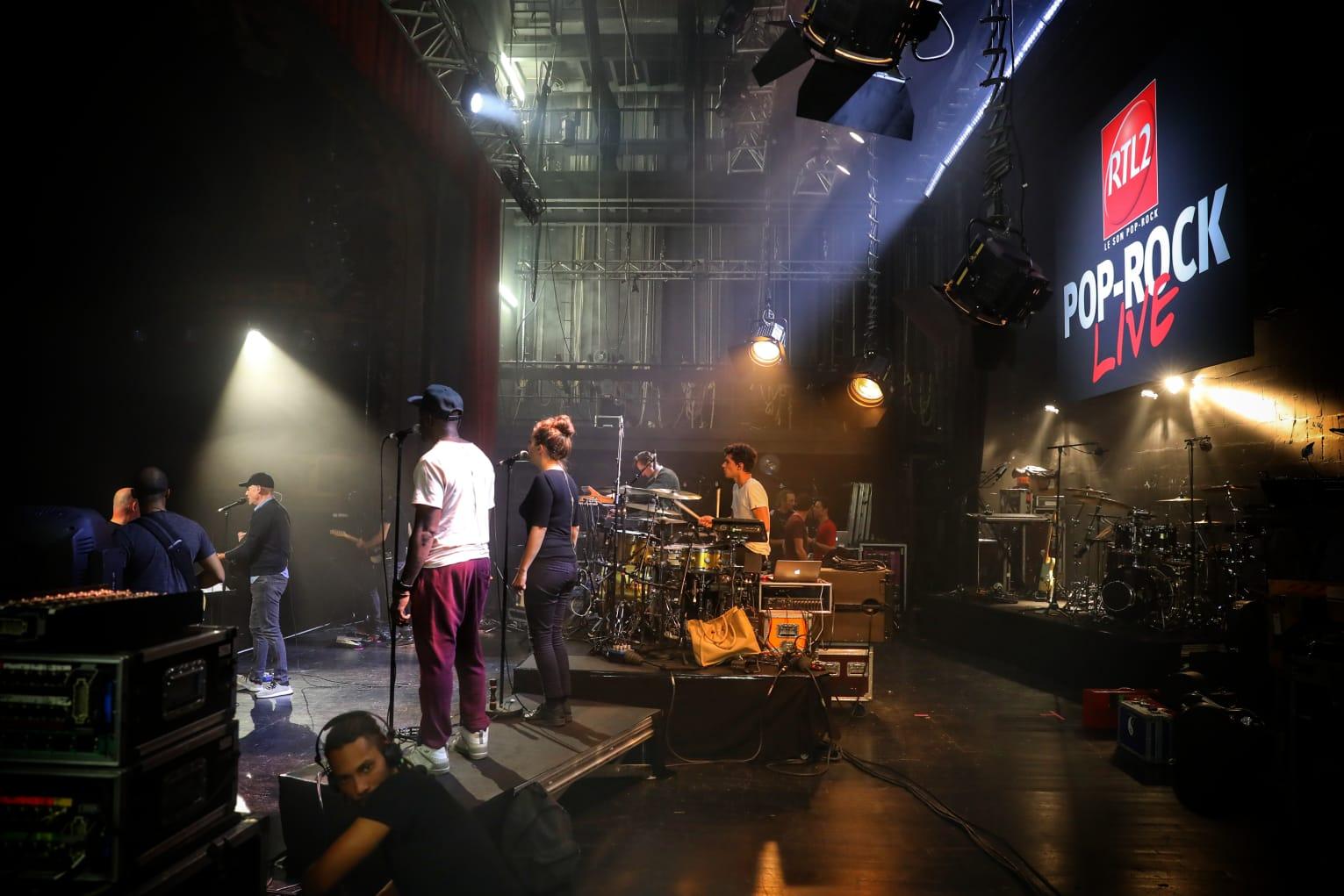 RTL2 Pop-Rock Live au Trianon, les répétitions