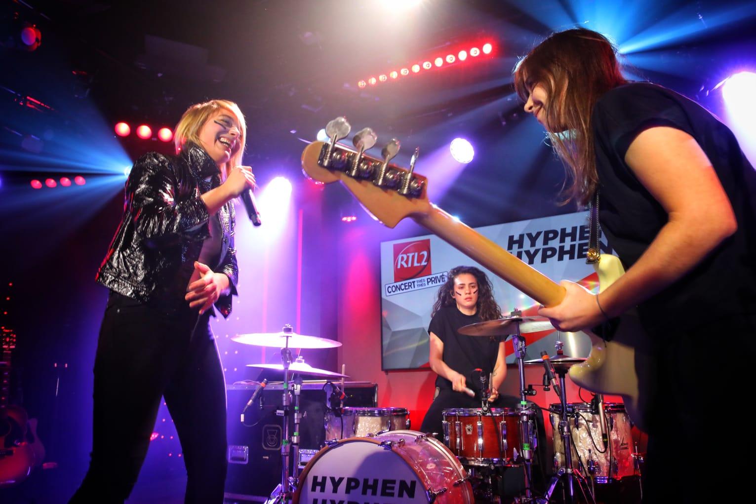 Hyphen Hyphen en Concert Très Très Privé dans le Grand Studio RTL2