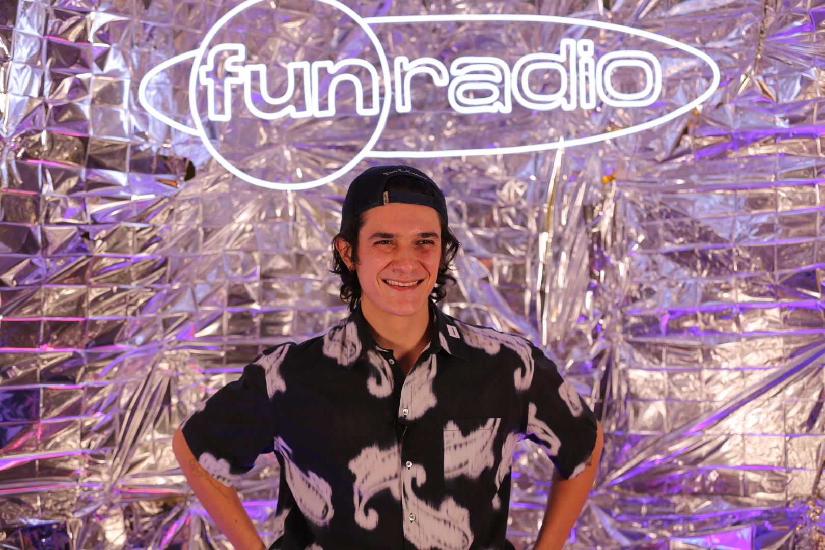 Kungs lors de Fun Radio Live Stream Experience