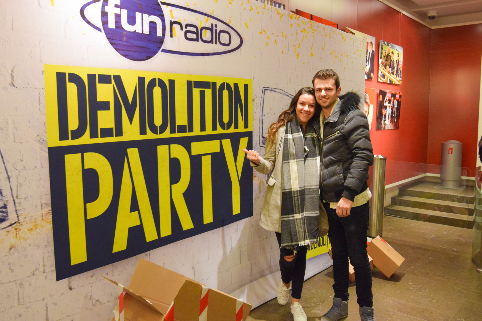 """Le photocall """"Demolition Party"""""""