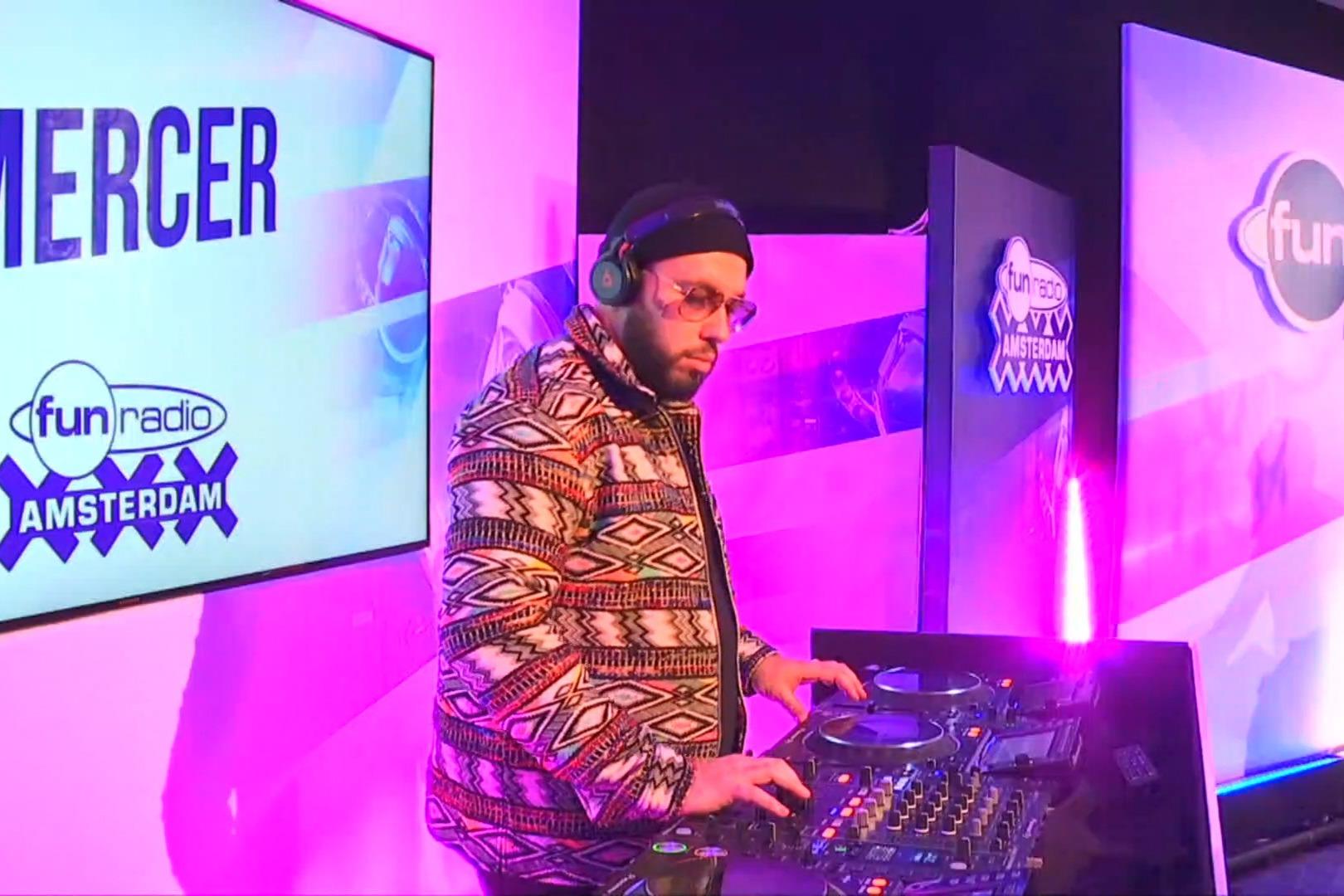 Mercer en interview et en mix dans Fun Radio Amsterdam