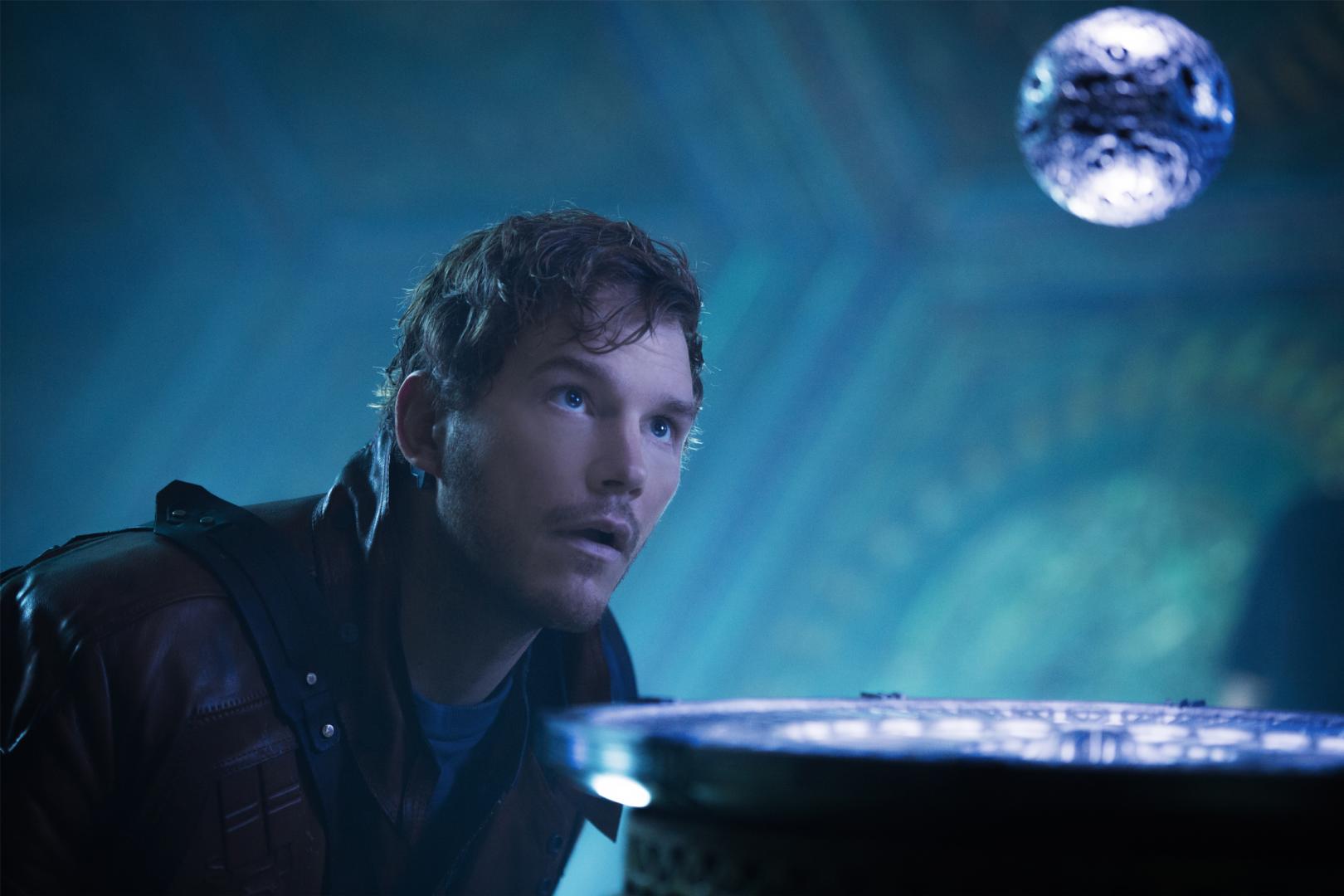 """Le globe est découvert dans """"Les Gardiens de la galaxie""""."""