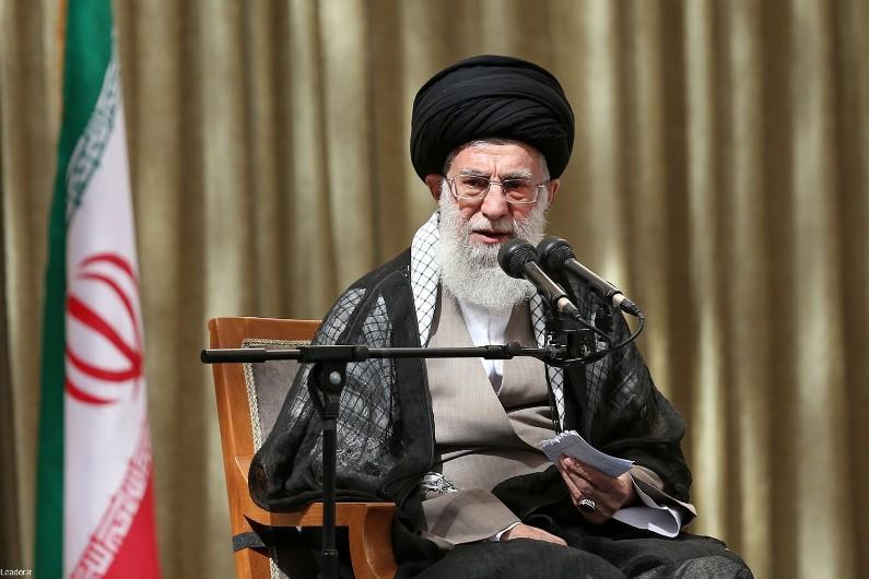 Le guide suprême iranien, l'ayatollah Ali Khamenei, le 4 juin 2014