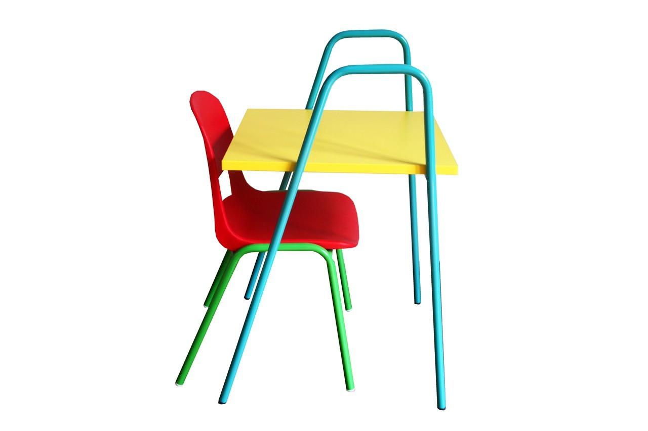Bureau d'écolier Nomad et chaise Kokette, Happy Zoé
