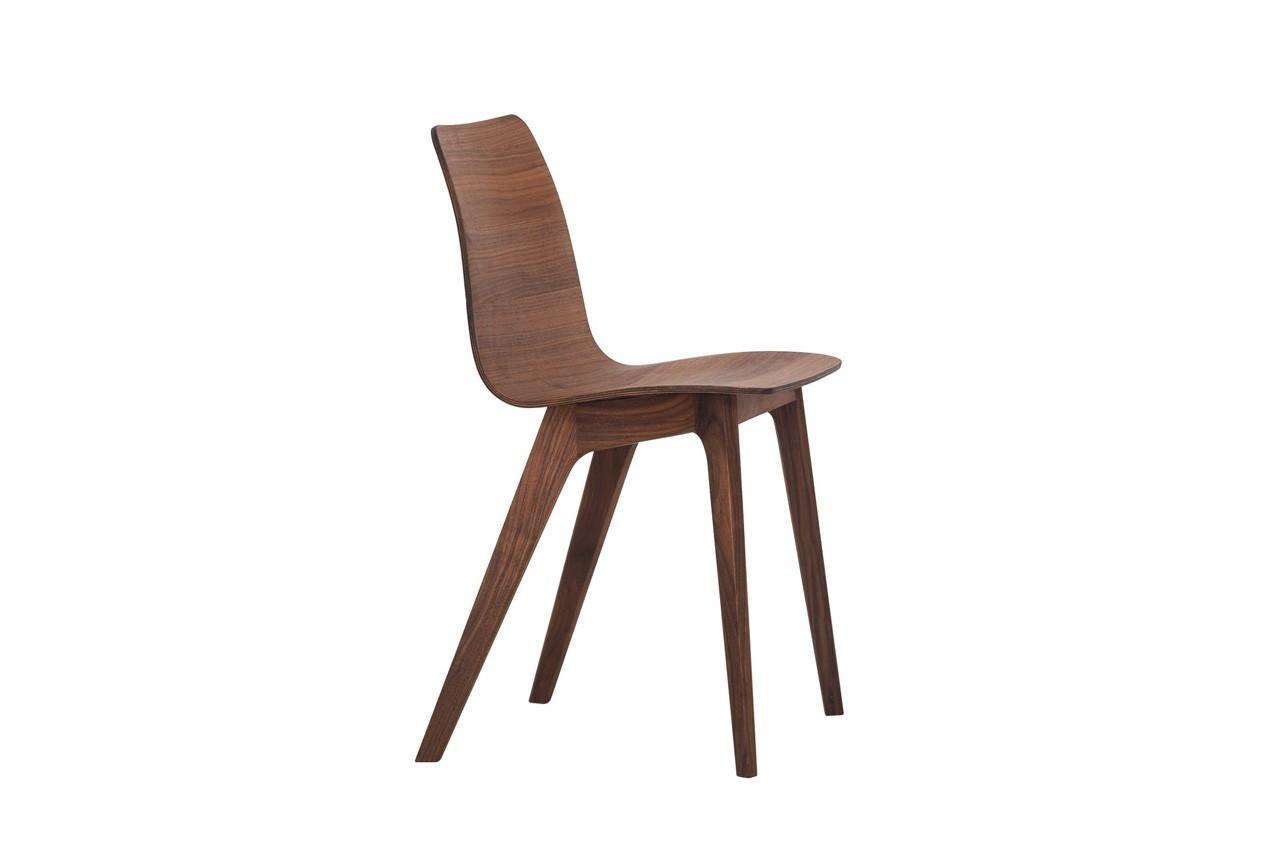 Chaise Morph, en noyer, Zeitraum, Made in Design