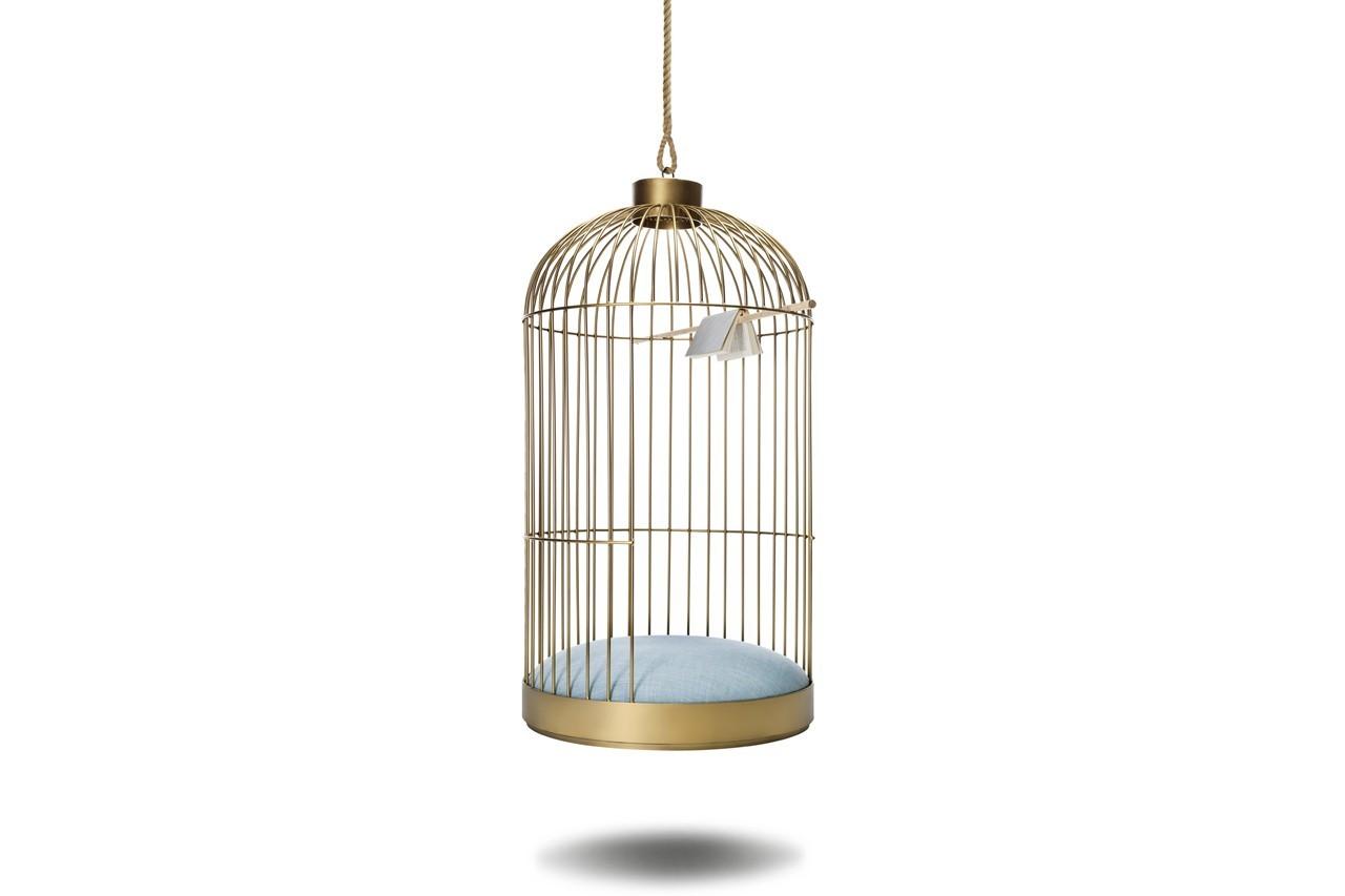 Cage suspendue, Anouchka Potdevin