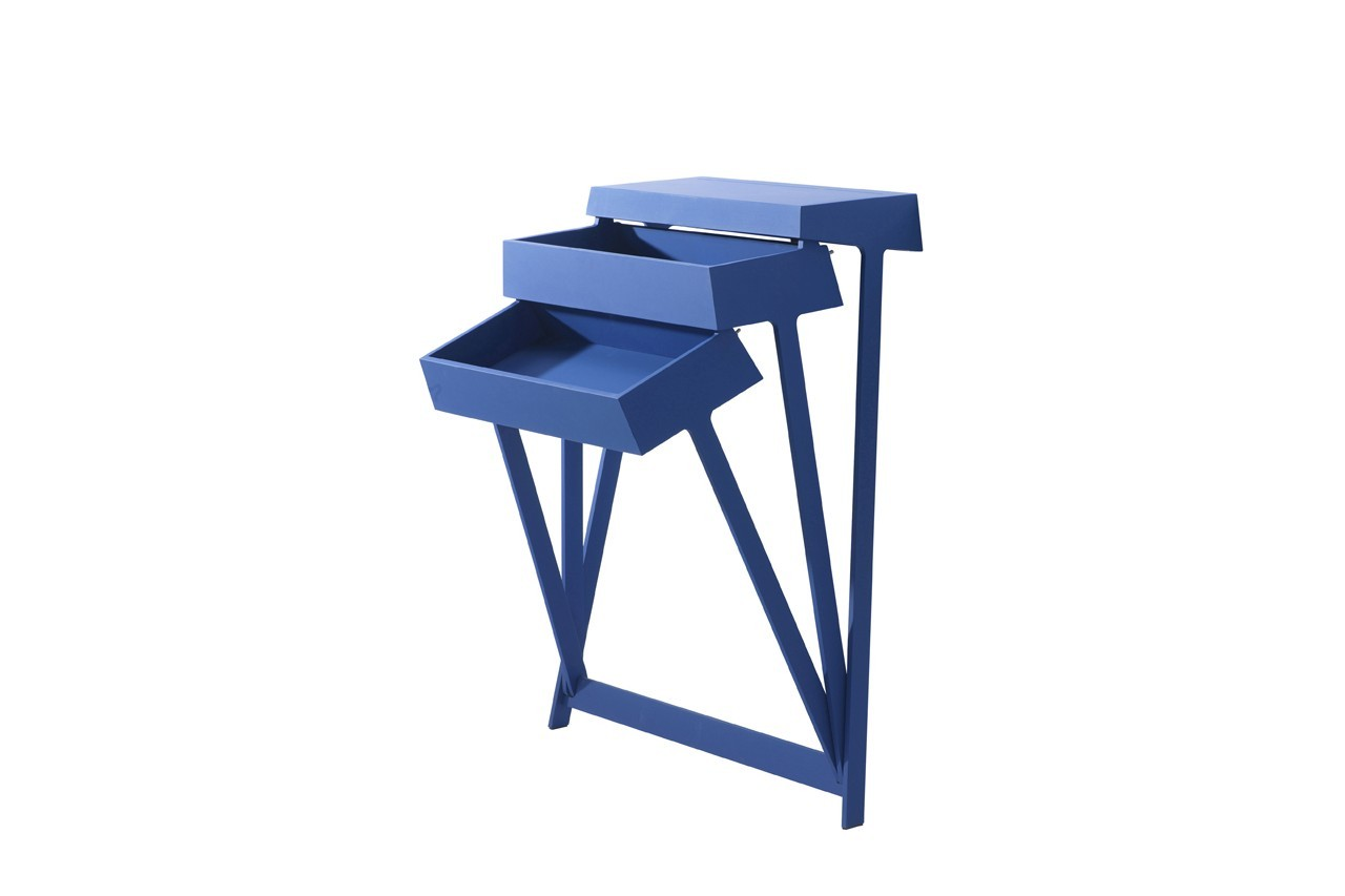 Commode Pivot, 2 tiroirs basculants, Arco, Made in Design