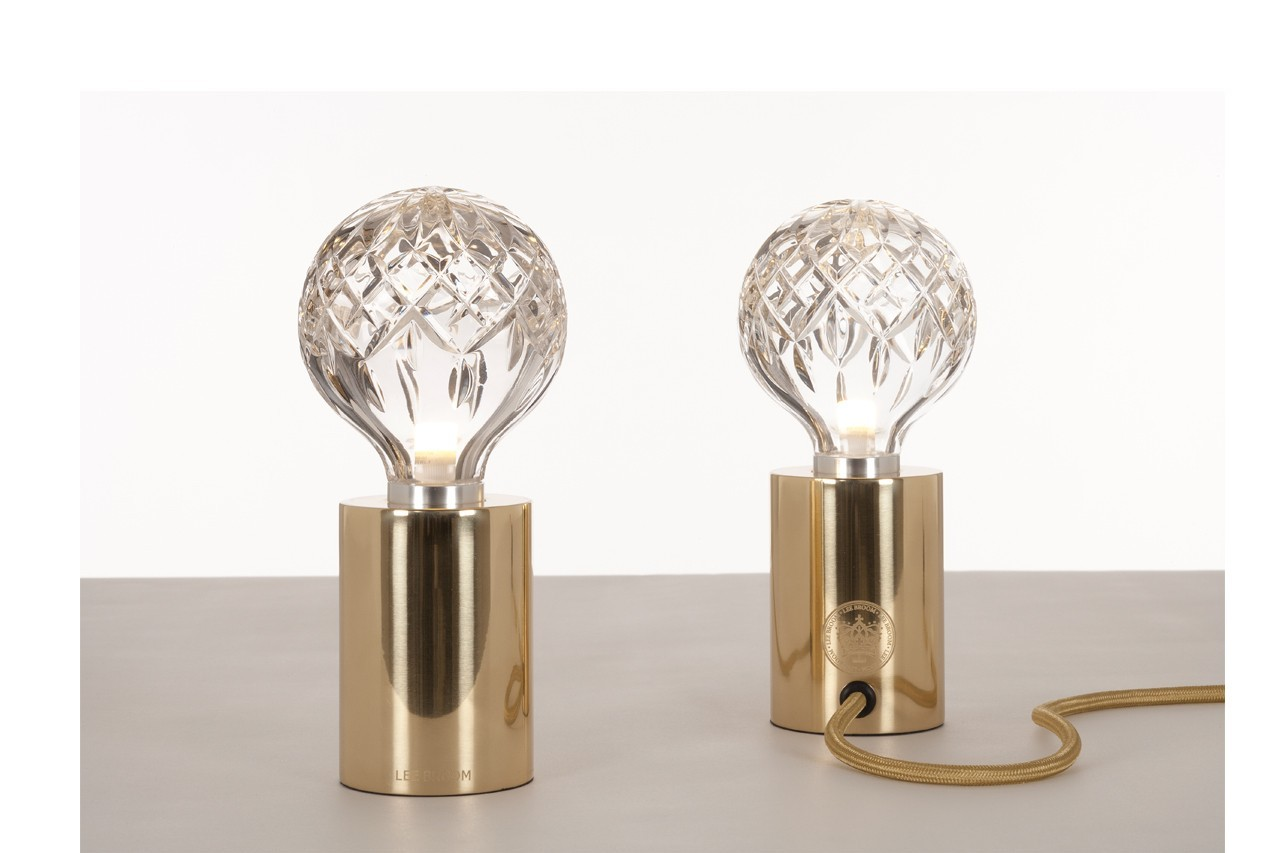 Lampe de table Clear Crystal Bulb, Lee Brom, Fleux