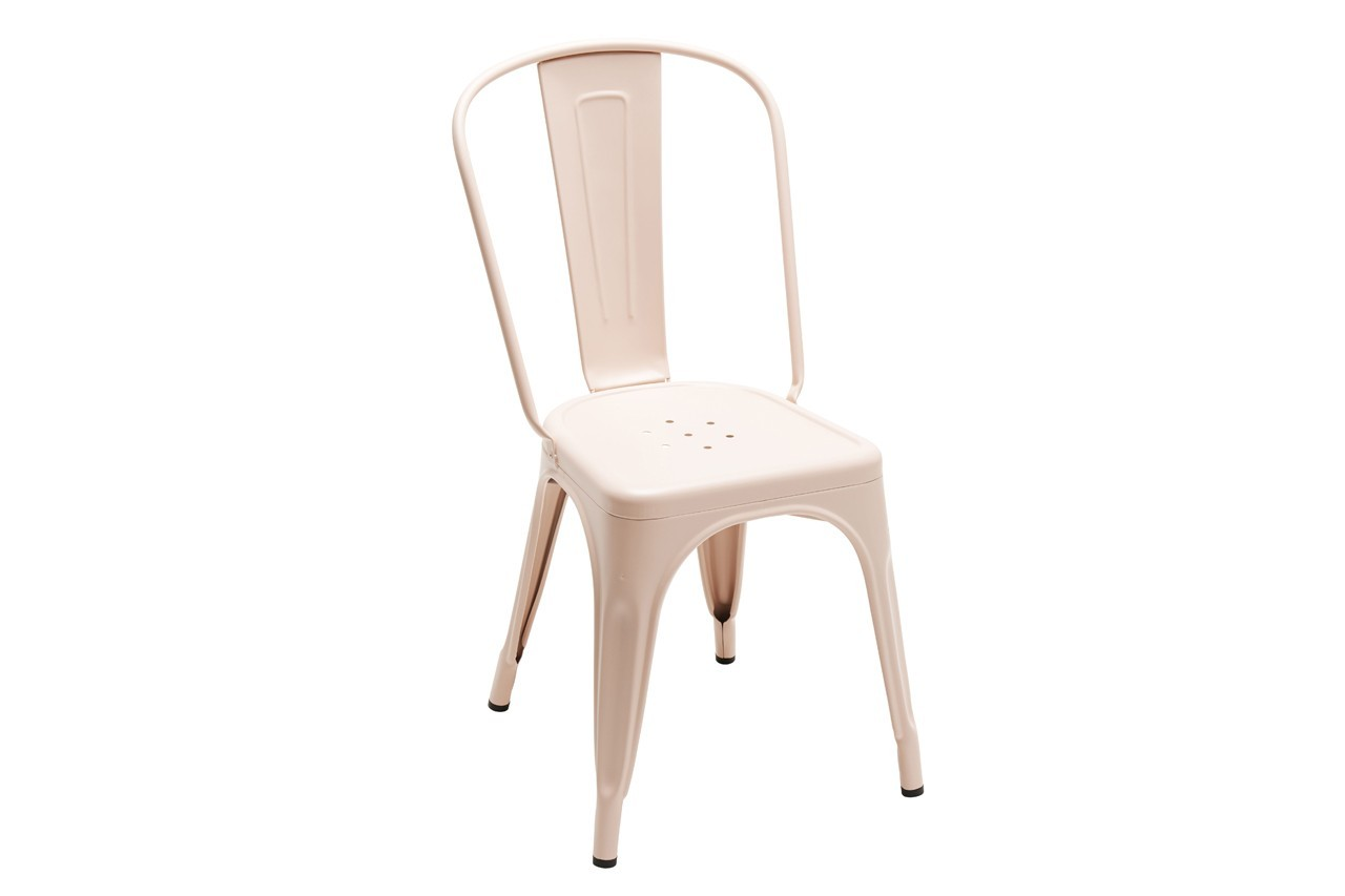 Chaise A, couleur mate / Les Couleurs®, Le Corbusier, Tolix, Made in Design