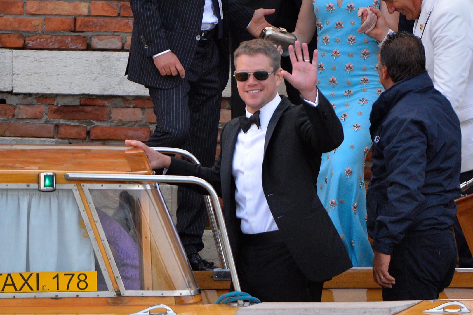 Matt Damon a versé 10.400 dollars dans la campagne du sénateur Cory Booker
