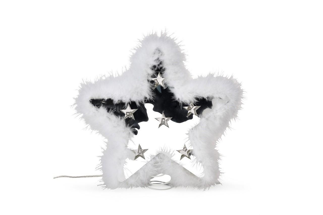 Cimier étoile en plume lumineux, Alinéa