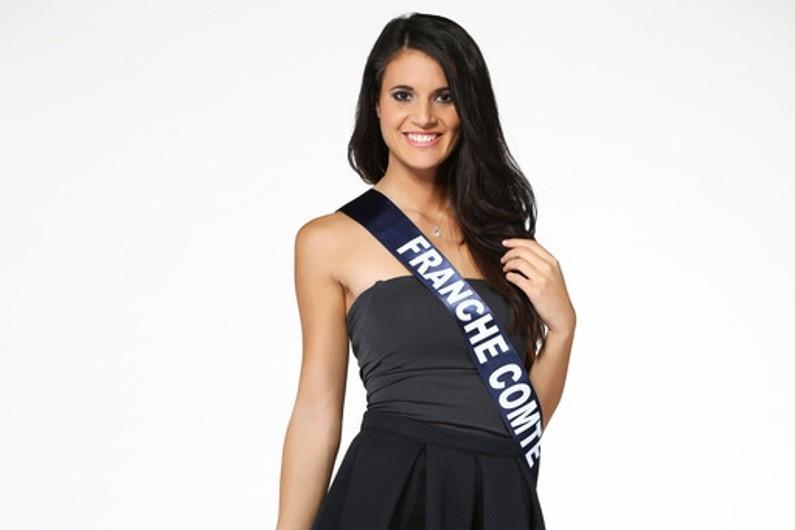 Miss France 2015 : Anne-Mathilde Cali est miss Franche-Comté