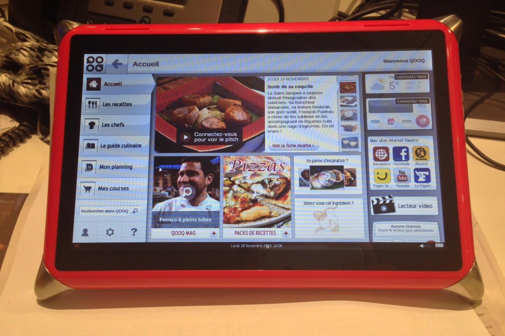 5 - La tablette Qooq, 399 euros