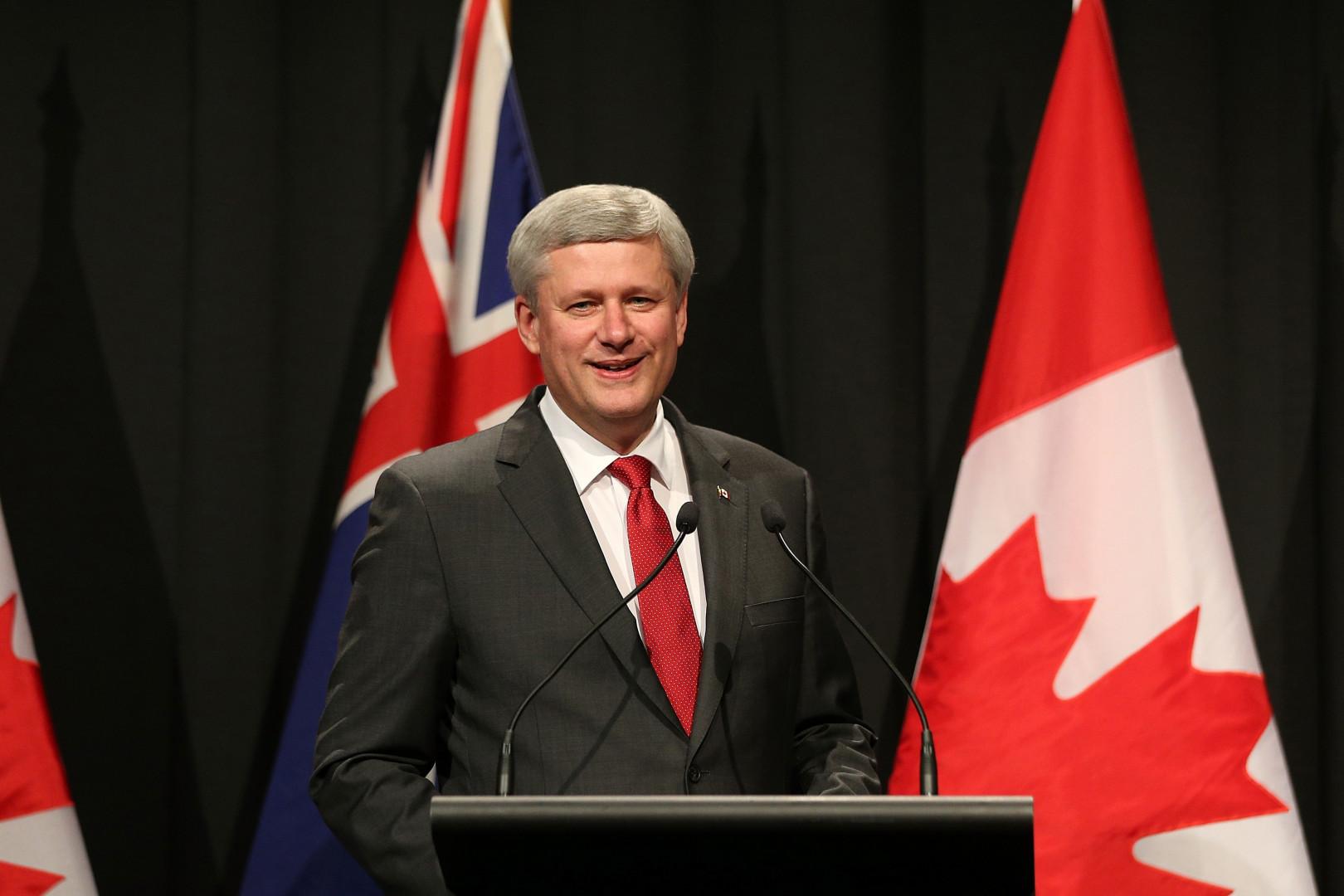 2. Le premier ministre canadien, Stephen Harper, gagne 260.000 dollars par an