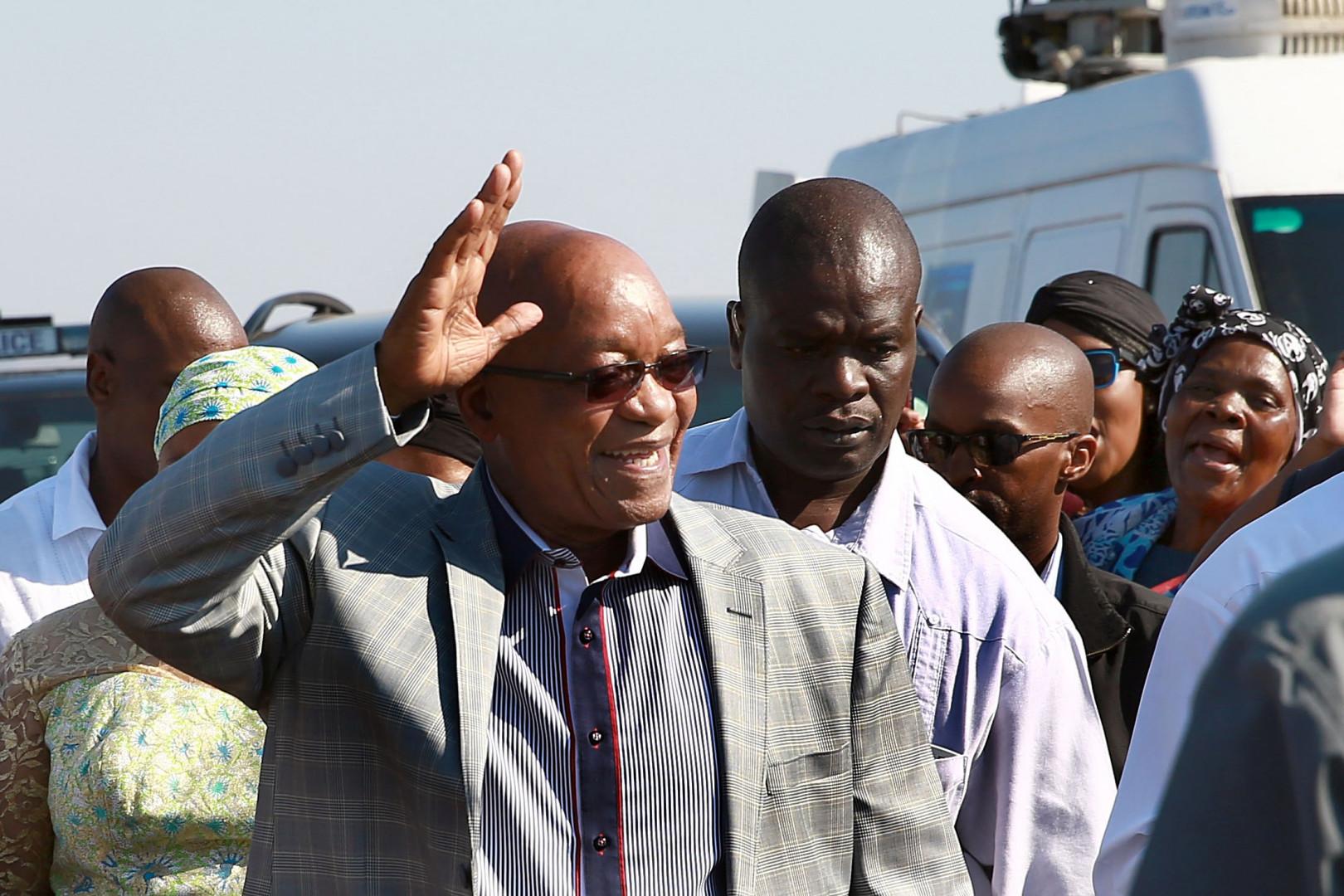 4. Le président sud-africain, Jacob Zuma, gagne 223.500 dollars par an