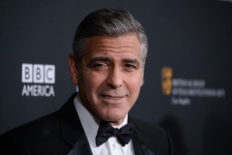 L'acteur George Clooney est un fervent démocrate