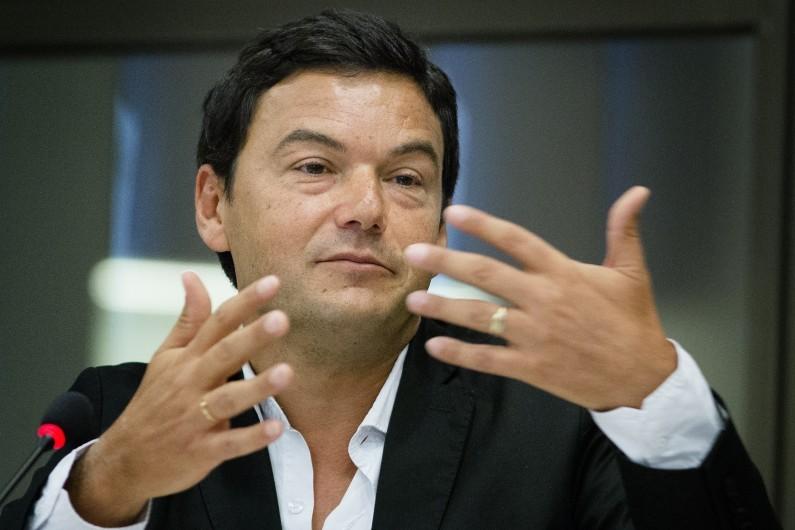 """Thomas Piketty, auteur du livre """"Le Capital au XXIe siècle"""", figure aussi dans la catégorie """"icônes""""."""