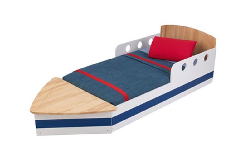 Lit bateau en bois, Delamaison, 219 euros