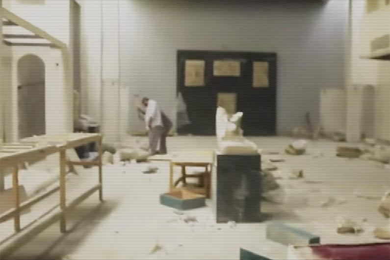 Si certaines œuvres du musée de Mossoul en Irak étaient des répliques, beaucoup d'entre elles étaient des originales