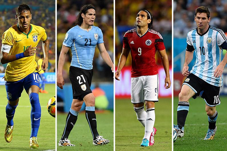 Joueurs de Ligue 1 et stars, 23 joueurs à suivre pendant la Copa America