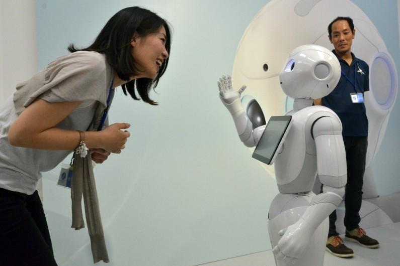 Pepper, le robot d'Aldebaran, est capable de détecter et de ressentir des émotions
