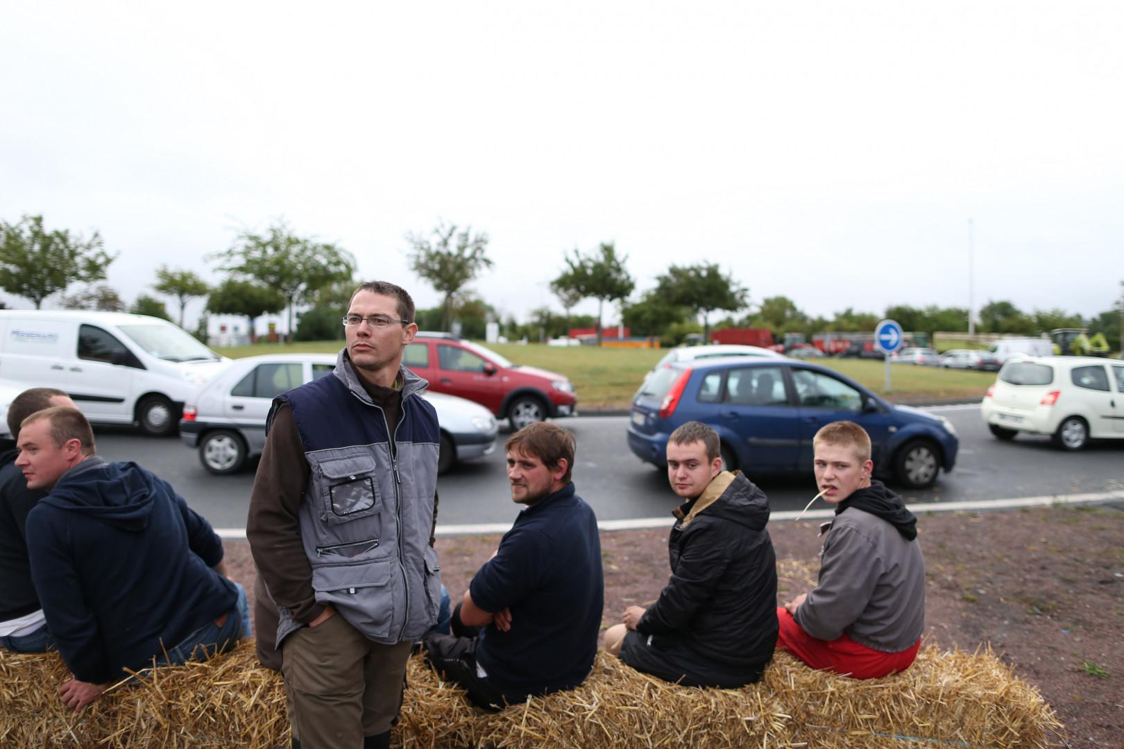 Les agriculteurs normands comptent bien être entendus par Stéphane Le Foll, le ministre de l'agriculture