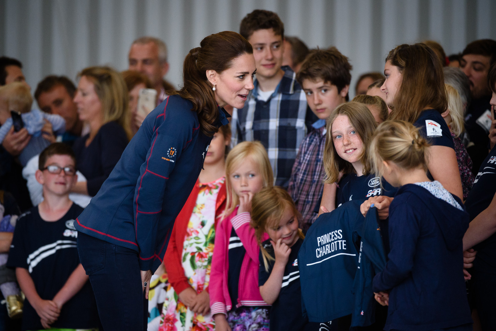 Kate Middelton a rencontré des enfants lors de l'événement