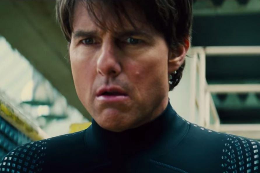 """Un coupe mi-longue mais très peu de signes de vieillesse pour Tom Cruise dans """"Rogue Nation"""""""