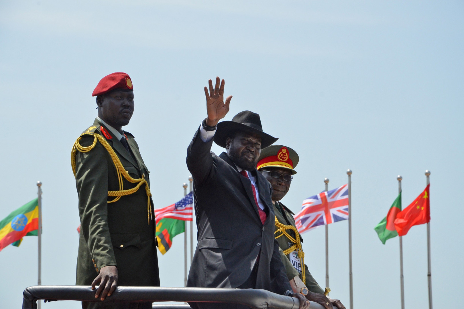 Salva Kiir, le président du Soudan du Sud, le 9 juillet 2015
