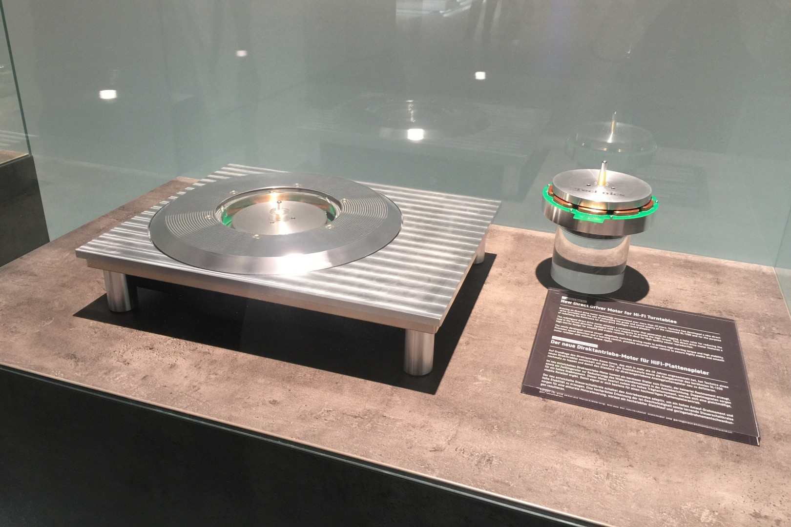 Un prototype de platine Technics présenté par Panasonic à l'IFA