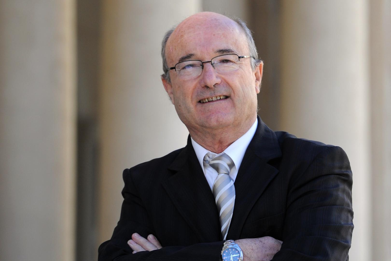 Jacques Bompard, président de la Ligue du Sud et maire d'Orange (Vaucluse) le 6 décembre 2013. (archives)