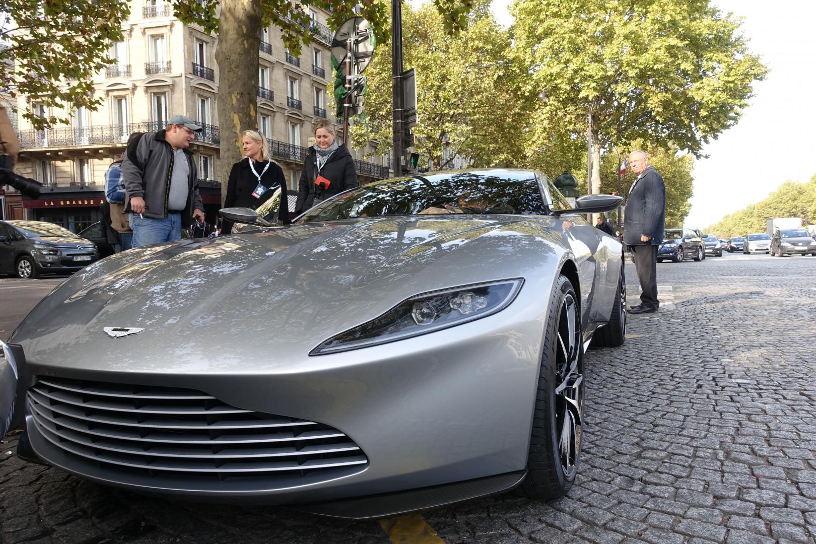 """L'Aston Martin DB10 conçue spécialement pour """"Spectre""""."""