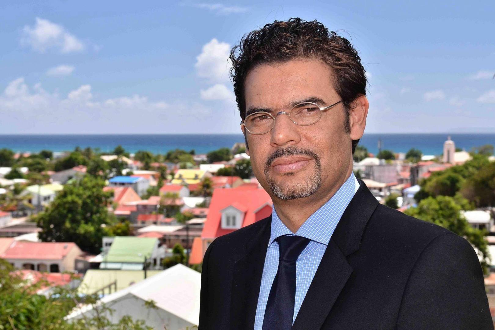 Laurent Bernier, tête de liste Les Républicains aux élections régionales 2015 en Guadeloupe