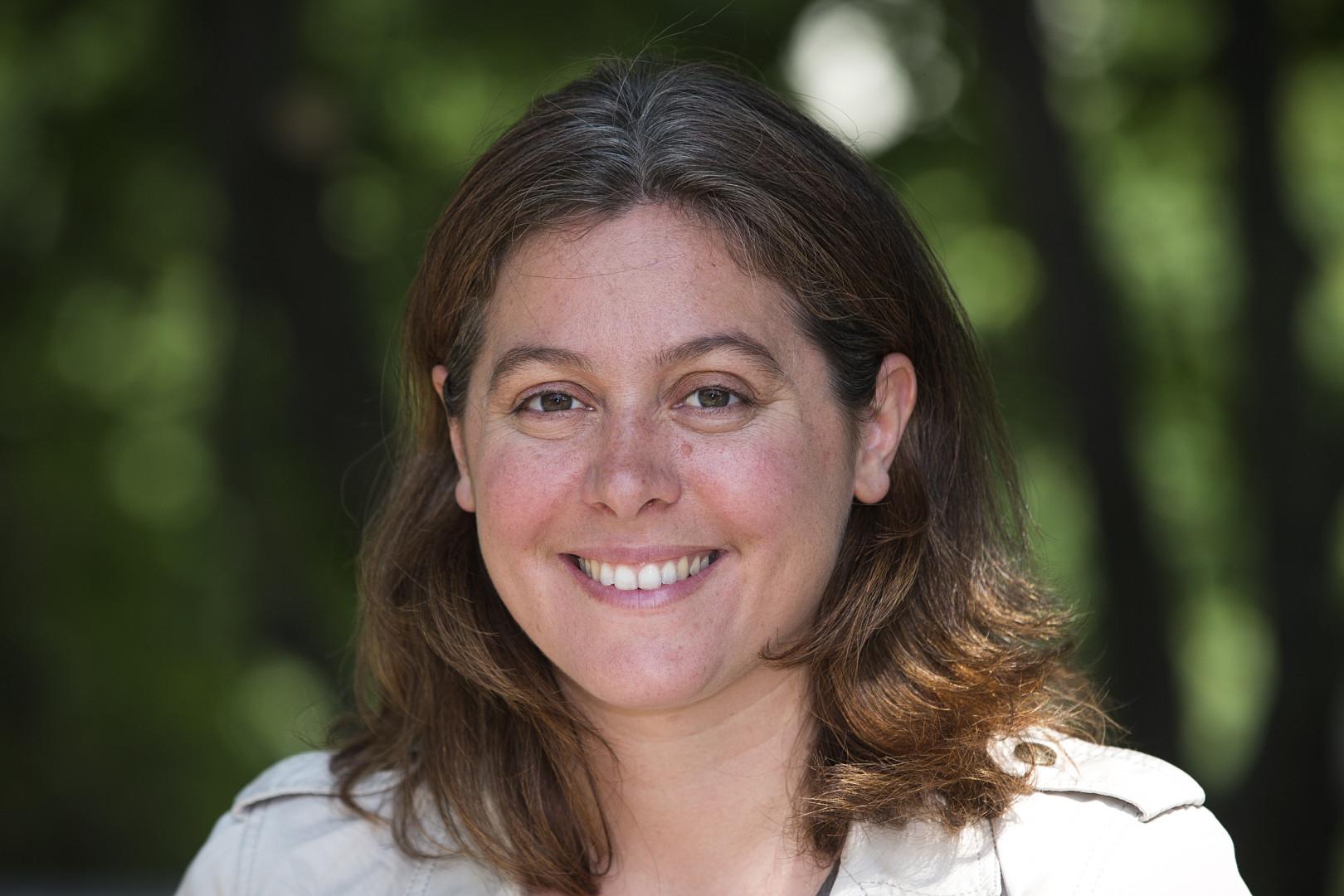 Sophie de Bringuy est tête de liste Europe Écologie Les Verts aux élections régionales 2015 dans les Pays de la Loire.