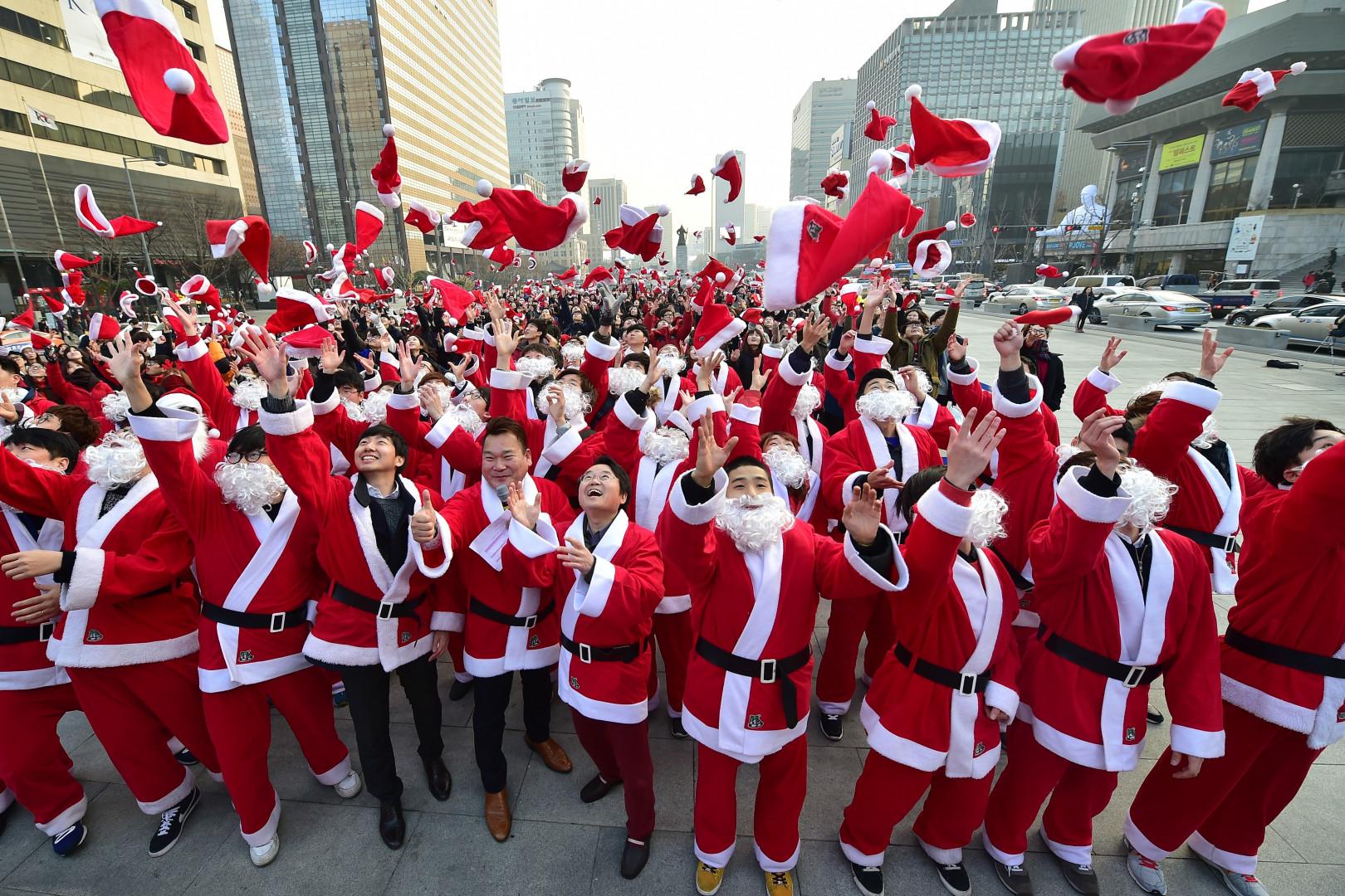 En Corée du Sud, un défilé pour une association a été organisé à Séoul