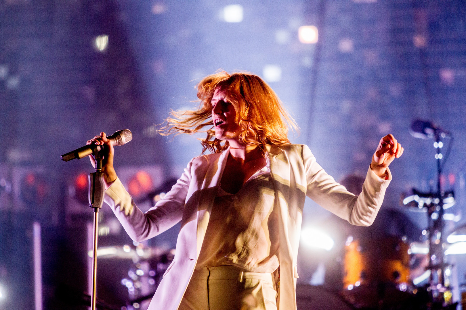 Florence Welch, 29 ans, chanteuse anglaise du groupe Florence + The Machine