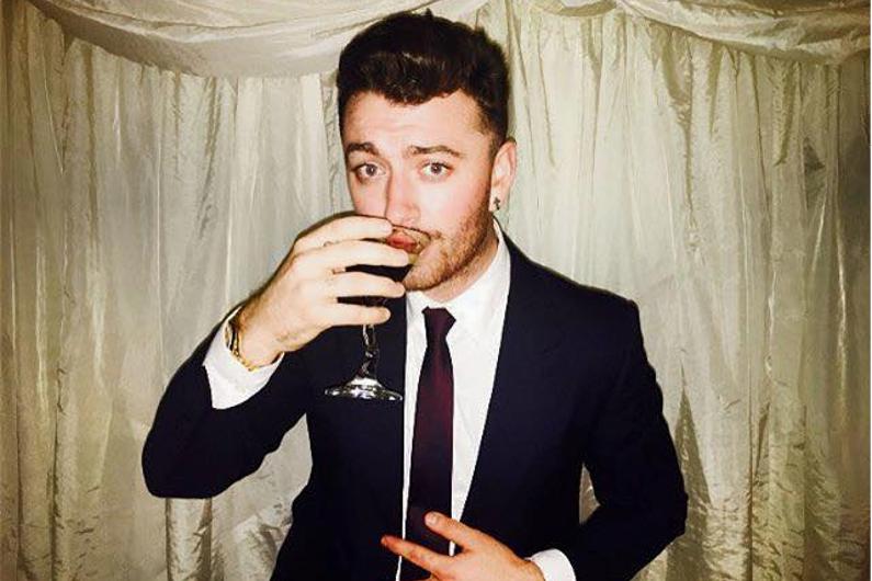 """Sam Smith, 23 ans, chanteur anglais interprète de """"Spectre"""" la BO du dernier """"James Bond"""""""