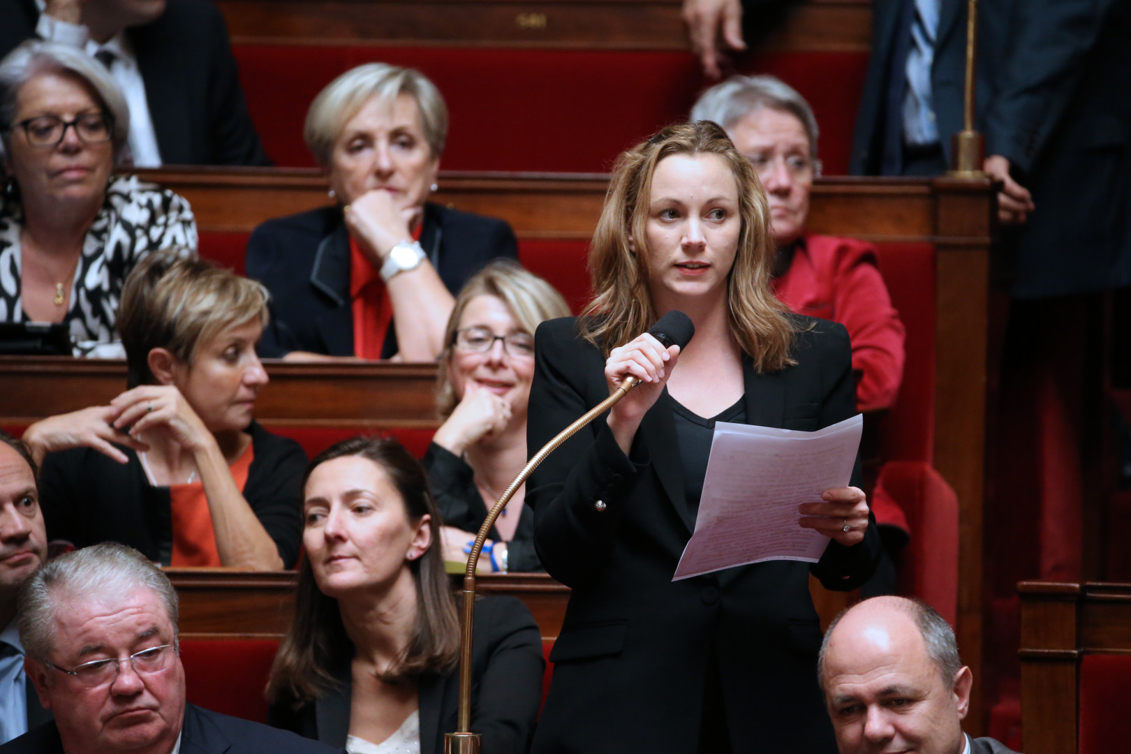 Axelle Lemaire, secrétaire d'État auprès du ministre de l'Économie, chargée du Numérique.