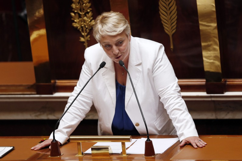 Pascale Boistard, secrétaire d'État chargée des Personnes âgées et de l'Autonomie.