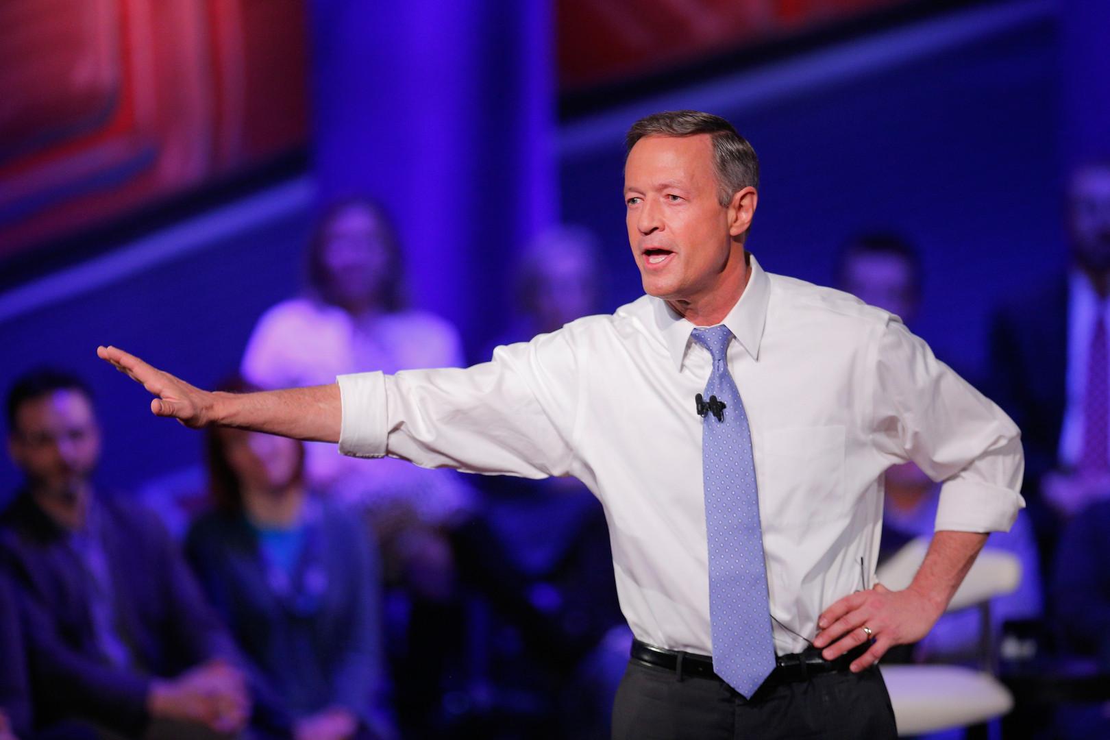 Martin O'Malley était candidat à la primaire démocrate